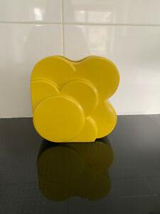 Orla Kiely Shadow Spot Flower Dandelion Layered Vase yellow