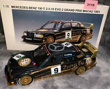 1:18 AUTOart Mercedes-Benz 190 E 2.5-16 Evo 2 GP Macau 1991 #11 (3118)