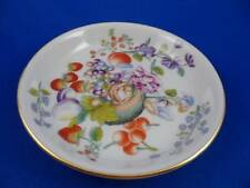"""Lenox Vienna Saucer Smithsonian Institute Collection 1983 """"Fruit & Floral, Gold"""