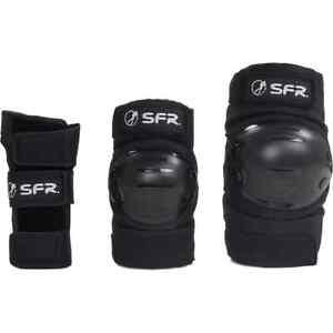 SFR Youth Ramp Triple Pad Set - Black
