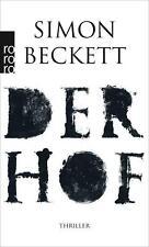 Der Hof  Simon Beckett   Thriller Taschenbuch ++Ungelesen++