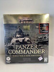 Sealed Panzer Commander World War II Tank Simulator Game 1998 PC Big Box Vintage