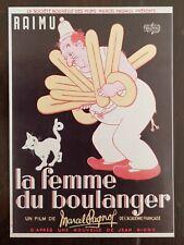DUBOUT La femme du Boulanger carte postale affiche (D5) état neuf