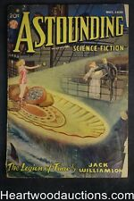 Astounding May 1938 Schneeman Cvr of Jack Williamson -Legion of Time