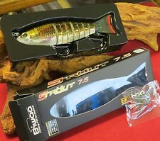 leurre biwaa strout 7,5--19cm--85 grs--red horse