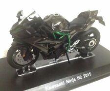 1:18 Kawasaki Ninja H2 2015 Motocicleta Ixo Agostini Diecast