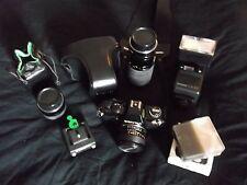 Contax 139 Quartz Spiegelreflexkamera - Analoges Fotokamera-Komplettset