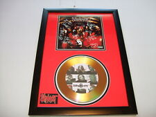 SKIPKNOT   SIGNED  GOLD CD  DISC