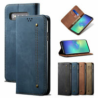 Flip Leather Stand Wallet Card Case Cover For Samsung Galaxy A50/A70/A30/M30s