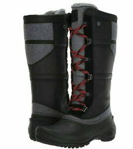 The North Face Shellista IV Tall Waterproof Insulated Winter Boots Black Size 9