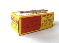 Voitures miniatures gris Simca
