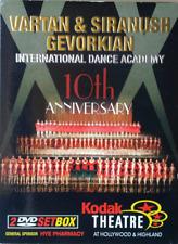 Vartan & Gevorkian Intl Dance Academy 10th anniversary 2 disc DVD Kodak Theater