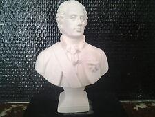 Louis XV Buste en plâtre de moulages H:15cm statuette