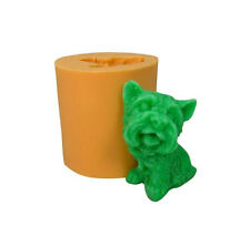 Puppy Dog 3D Soap Mould Flexible Silicone Cookie Mold Chocolate Mould R0522