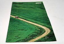 1973 ? FIAT 132 Orig Sales Brochure