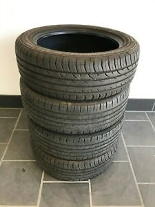 4x Sommer Continental ContiPremiumContact2 205/55R17 95V mit 6,5mm Profil!