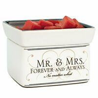 Mr & Mrs Electric 2 in 1 Jar Candle and Wax and Oil Warmer
