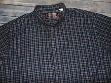 Five Brother Plaid Long Sleeve Button Front Cotton Flannel Shirt Men's Size XL