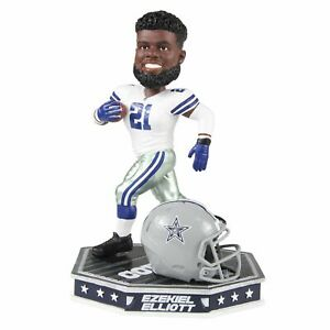 Ezekiel Elliott Dallas Cowboys Removable Helmet Bobblehead NFL