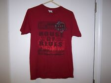 """ORLANDO RED HOUSE OF BLUES T-SHIRT SIZE M """"WHERE THE HEART MEETS THE SOUL"""""""