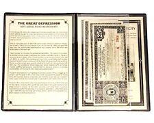 North Carolina Four Revenue Anticipation Banknotes,Great Depression Album,Story