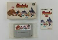 MONSTANIA Nintendo Super Famicom with BOX Japanese SFC SNES Japan USED
