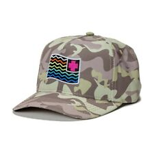 +++ NEW PINK DOLPHIN WAVES FLAG SNAPBACK HAT CAP IN CAMO +++