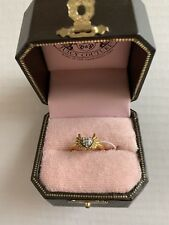 PRE-OWNED JUICY COUTURE FASHION JEWELRY HEART WITH WINGS RING