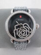 NEW Michele Black MOP Diamond Jardin CSX Limited Edition Watch MWW03T000070 NIB