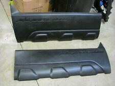 Chevy Avalanche 2500 Driver & Passenger Lower Body Cladding Fits 02-06 GM