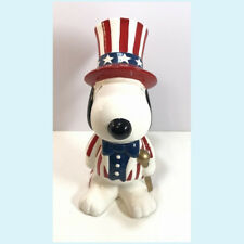 Snoopy's Large Deposit Box Pottery Piggy Bank Willitts Designs Vintage