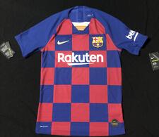 Nike FC Barcelona 2019-20 Authentic Vapor Match Jersey (S) AJ5257 456 MSRP $165