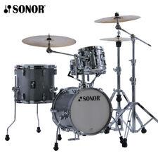 NEW Sonor AQ2 MARTINI Maple 4 Piece Drum Set Shell Pack - Titanium Quartz