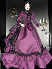 HALLOWEEN HAUNTED BEAUTY GOTHIC  MISTRESS OF THE MANOR BARBIE DOLL  WITH SHIPPER