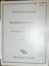 Brass quartet & organ: Wedding Recessional by Skinnell New Cur pub price $19.95