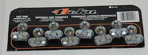 8Pcs Universal Side Terminal Battery Terminal Auto Boat Truck RV Mobile USA MADE