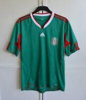 MEXICO NATIONAL TEAM 2010/2011 HOME FOOTBALL SHIRT JERSEY CAMISETA ADIDAS SIZE L