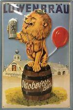Blechschild Löwenbräu