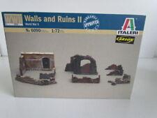 1:72 Italeri 6090  Mauern und Ruinen WWII  -  in OVP