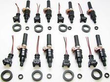 Set of 8 Bosch UPGRADE Fuel Injectors, 1973-75 Mercedes 450, 0000782723, 783423