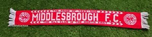 Middlesbrough SCARF FOOTBALL SOCCER ONE SIZE UNISEX RED WHITE