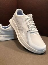 Shoes For Crews WIDE WHITE Non Slip Work Shoes MENS Size 8.5
