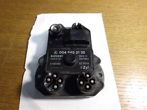 Zündsteuergerät Siemens,Mercedes-Benz W124 W201 4 Zyl. 0045452132 5WK6126