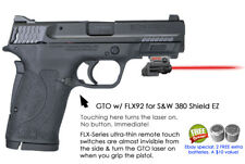 ArmaLaser GTO RED Laser Sight for S&W 380 Shield EZ w/ FLX92 Grip Touch On/Off