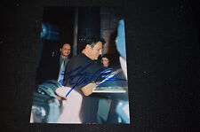 FRANK STALLONE signed Autogramm 18x25 cm In Person ROCKY 1- 3 , HUDSON HAWK