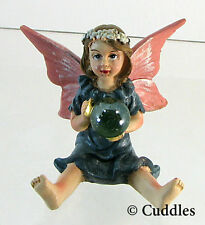 Garden Fairy Figurine Ganz Fairy Wings Gazing Ball Fantasy Mini Nature Flower