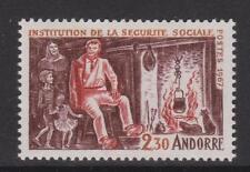 FRENCH ANDORRA-SG F203-U/M - 1967 de sécurité sociale