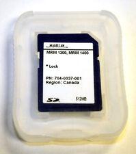 Genuine Magellan Canada Maps Software Sd Card Roadmate 1200 1400 1412 1430 Gps