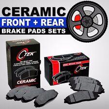 FRONT + REAR Ceramic Disc Brake Pads 2 Sets Fits Hyundai Tucson, Kia Sportage