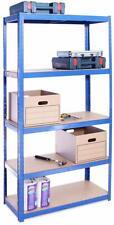 Blue 5 Tier (175KG Per Shelf), 875KG Capacity Garage Shed Storage Shelving Units